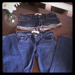 Hollister Shorts and Jeans
